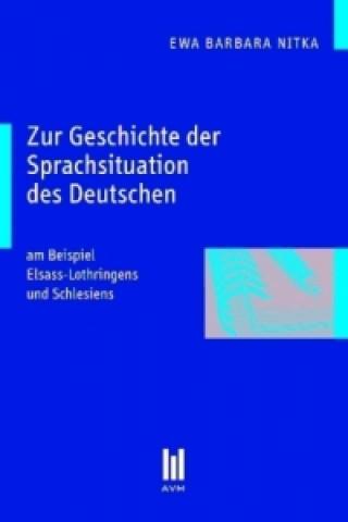 Zur Geschichte der Sprachsituation des Deutschen