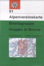 Brentagruppe. Gruppo di Brenta