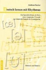 Deutsch lernen mit Rhythmus, m. Audio-CD