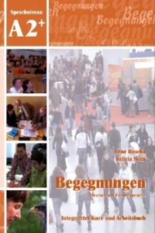 A2+ Integriertes Kurs- und Arbeitsbuch, m. 2 Audio-CDs