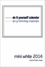 do it yourself calendar, mini white 2016