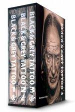 Black & Grey Tattoo - 3 Volume Set