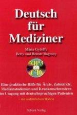 Deutsch für Mediziner, m. MP3-CD