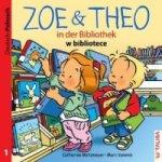 Zoe & Theo in der Bibliothek, Deutsch-Polnisch. Zoe & Theo w bibliotece