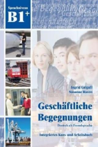 Geschäftliche Begegnungen - Sprachniveau B1+, m. Audio-CD