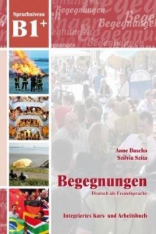 B1+ Integriertes Kurs- und Arbeitsbuch, m. 2 Audio-CDs