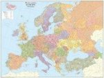 PLZ Kontinental-Europa, Planokarte. Global Mapping Europe Postcodes