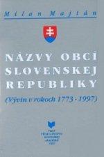 Názvy obcí Slovenskej republiky
