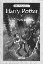Harry Potter y la camara secreta. Harry Potter und die Kammer des Schreckens, spanische Ausgabe