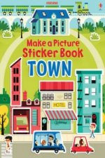 Make a Picture Sticker Book Town