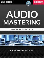 Jonathan Wyner: Audio Mastering - Essential Practices