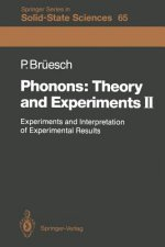 Phonons: Theory and Experiments II, 1