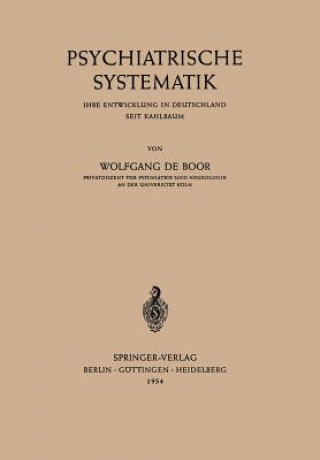 Psychiatrische Systematik