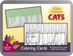 Cats:Edie Harper Coloring Cards