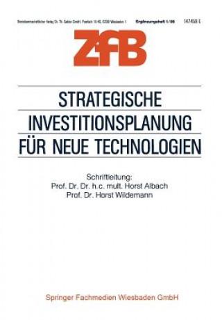 Strategische Investitionsplanung F r Neue Technologien