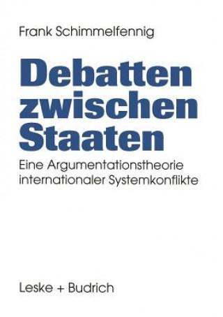 Debatten Zwischen Staaten