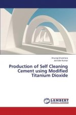 Production of Self Cleaning Cement Using Modified Titanium Dioxide