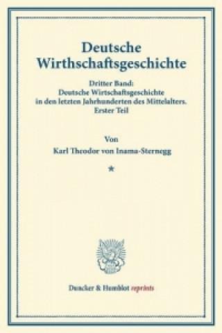Deutsche Wirtschaftsgeschichte.