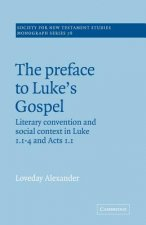 The Preface to Luke's Gospel