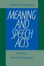 Meaning and Speech Acts 2 Volume Paperback Set