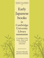 Early Japanese Books in Cambridge University Library