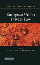 Cambridge Companion to European Union Private Law