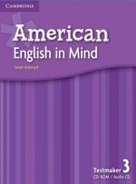 American English in Mind Level 3 Testmaker CD-ROM and Audio CD