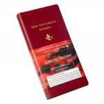 NRSV New Testament and Psalms NR012:NP burgundy imitation leather