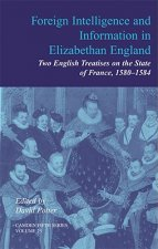 Foreign Intelligence and Information in Elizabethan England: Volume 25