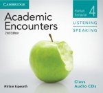 Academic Encounters Level 4 Class Audio CDs (3) Listening and Speaking