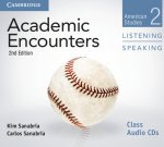 Academic Encounters Level 2 Class Audio CDs (2) Listening and Speaking
