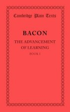 Advancement of Learning: Book I