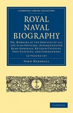 Royal Naval Biography 12 Volume Set