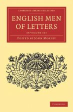 English Men of Letters 39 Volume Set