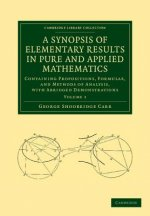 Synopsis of Elementary Results in Pure and Applied Mathematics: Volume 1