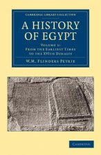 A History of Egypt: Volume 1, From the Earliest Times to the XVIth Dynasty