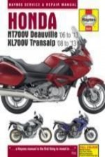 Honda NTV700V Deauville & XL700V Transalp Service and Repair