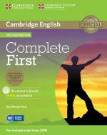 Complete First Student's Book Pack (Student's Book with Answers with CD-ROM, Class Audio CDs (2))