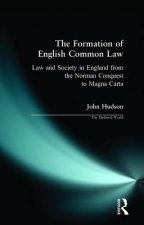 Formation of English Common Law