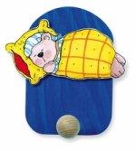 Věšák spící medvěd - 1 háček