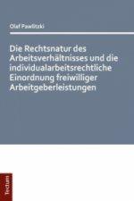 Die Rechtsnatur des Arbeitsverhältnisses und die individualarbeitsrechtliche Einordnung freiwilliger Arbeitgeberleistungen