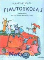 Flautoškola 1 Učebnice hry na sopránovou zobcovou flétnu