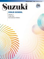 SUZUKI VIOLIN SCHOOL VIOLIN PART CD VOLU