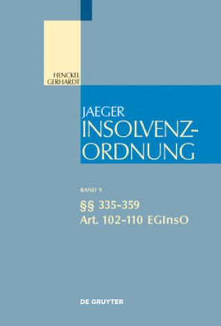 Paragraphen 335-359; Art. 102-110 EGInsO
