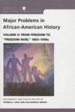Major Problems in African American History