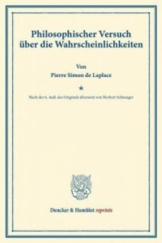 Philosophischer Versuch über die Wahrscheinlichkeiten.
