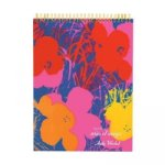 Andy Warhol Flowers Sketchbook