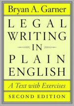 Legal Writing in Plain English
