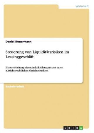 Steuerung Von Liquidit tsrisiken Im Leasinggesch ft