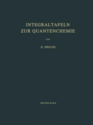 Integraltafeln Zur Quantenchemie